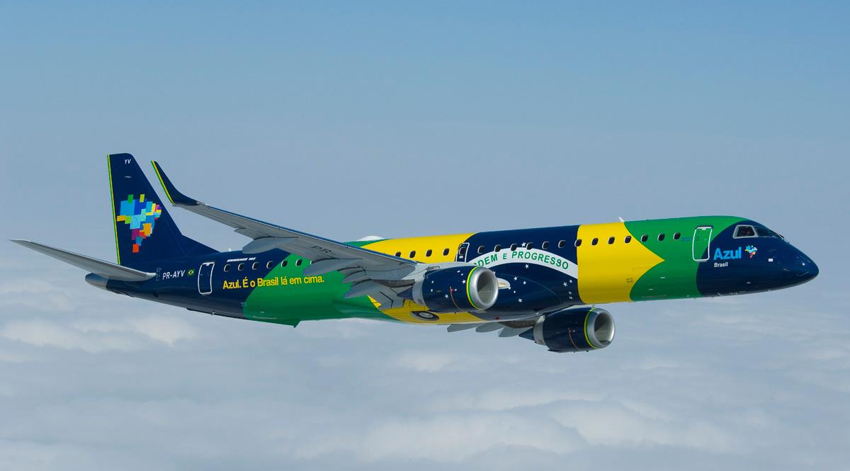 Azul entra para a ponte aérea com 34 voos diários entre SP e RJ
