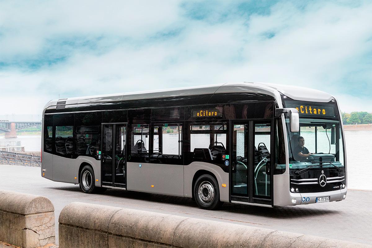 Mercedes-Benz começa a exportar seus ônibus elétricos na Europa
