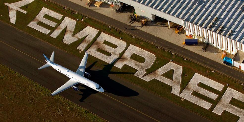 Embraer celebra meio século de história