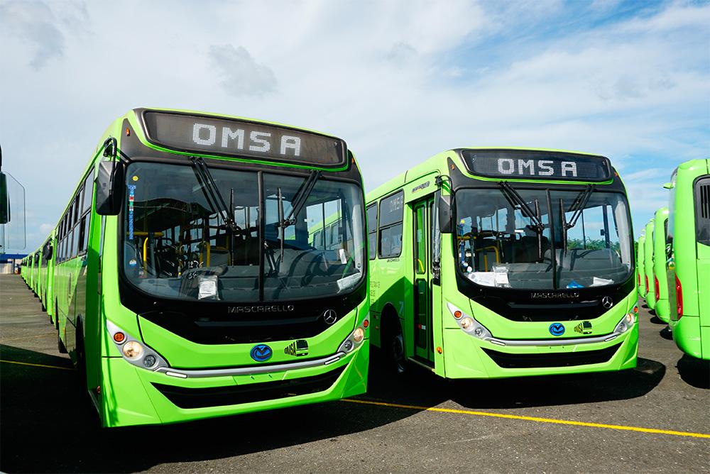 Mercedes-Benz faz grande venda de ônibus para a República Dominicana
