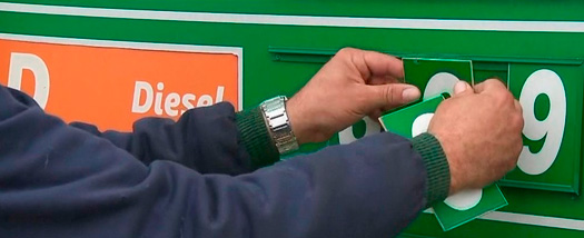 Diesel tem redução nas bombas em fevereiro, segundo a Ticket Log