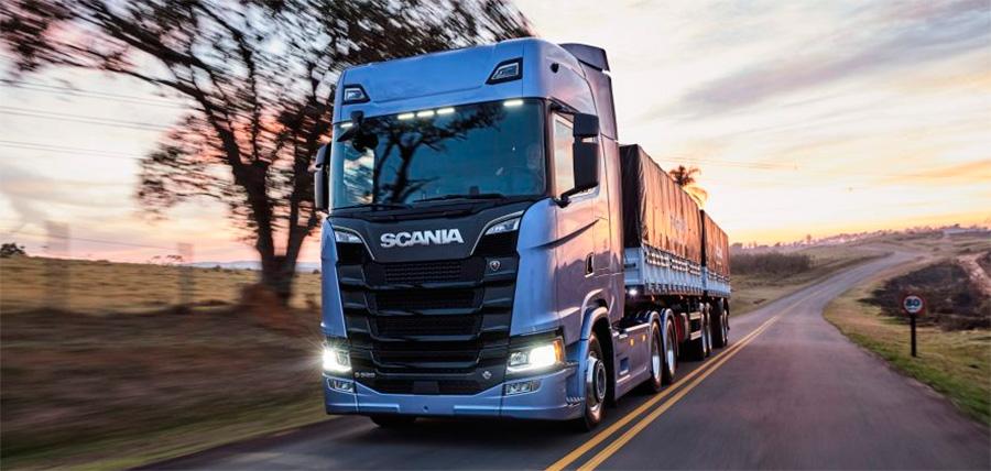 Nova geração Scania já chega ao pódio dos mais vendidos