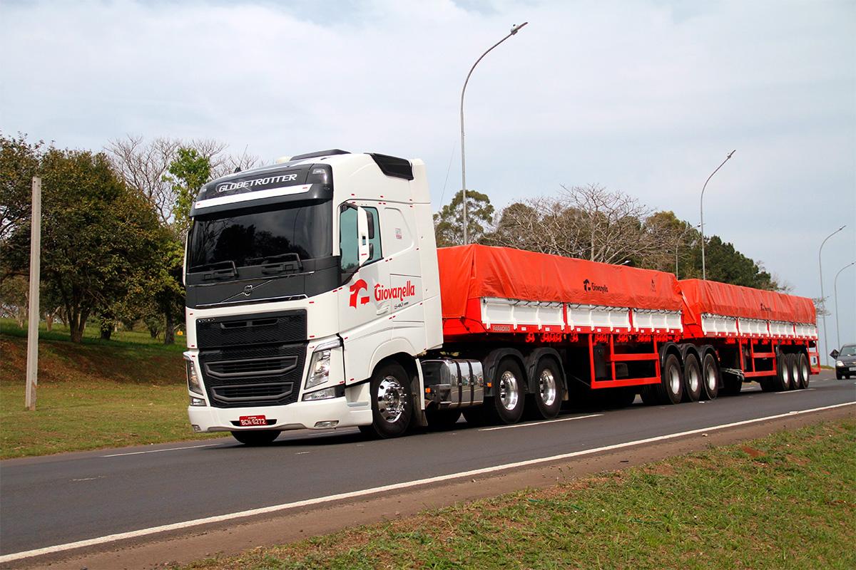 Paradiso Giovanella faz compra gigante de caminhões Volvo