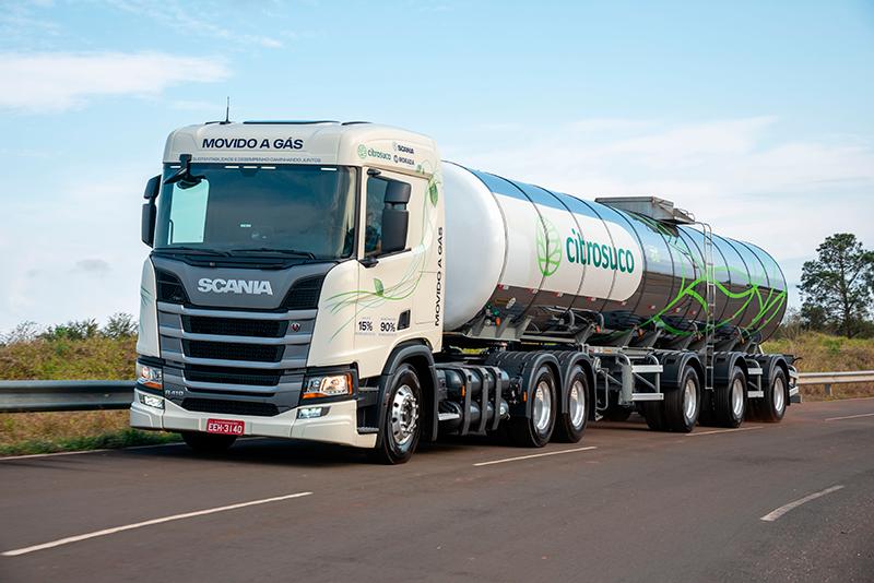 Scania dá um gás nas tecnologias de energias mais limpas