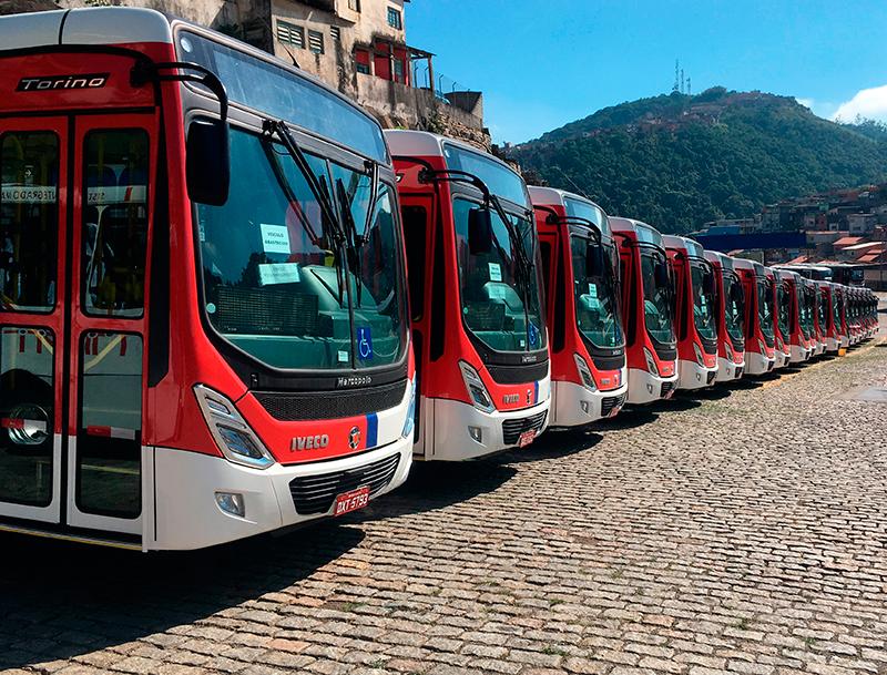 Suzantur recebe novos chassis Iveco Bus