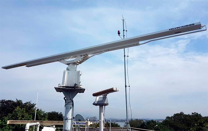 Metalock faz reparo em radar de navegação aquaviária no Rio de Janeiro