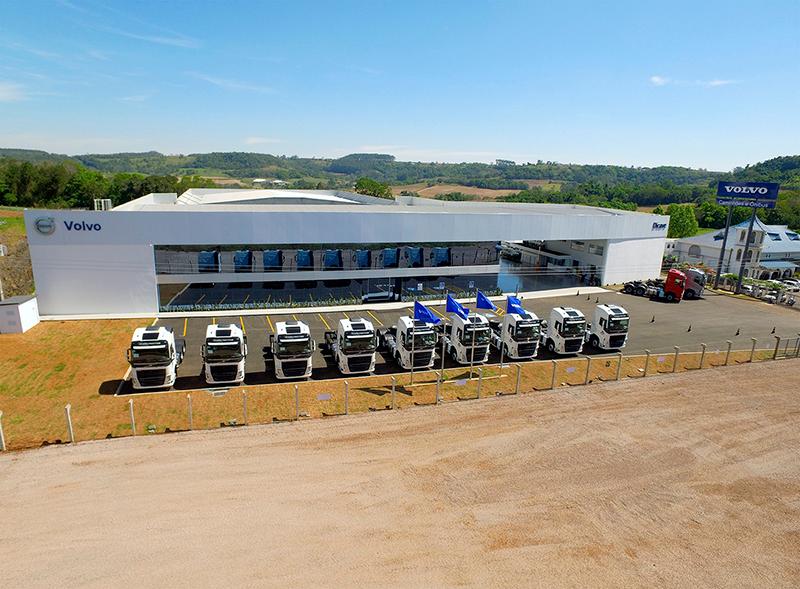 Volvo tem nova casa em Santa Catarina