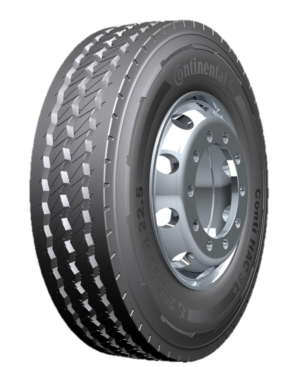 Continental lança o pneu ´inteligente`Conti HAC 3