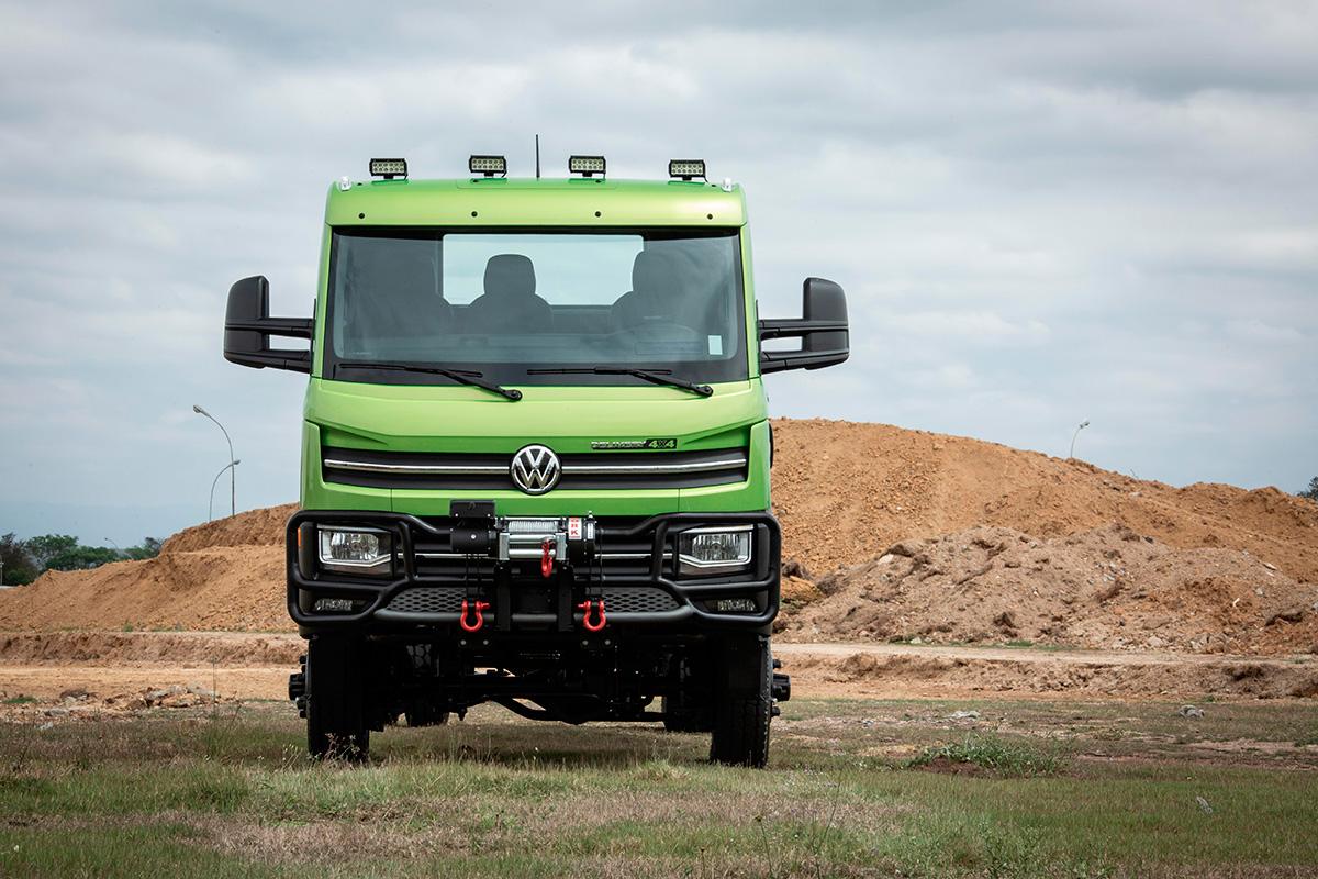VW lança um Delivery 4×4 nervoso e equipado