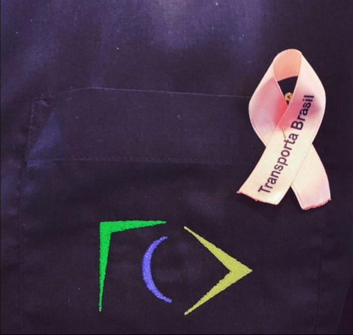 Transporta Brasil no outubro rosa: todos pela prevenção do câncer de mama