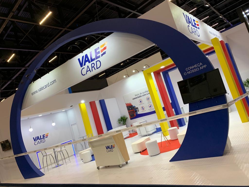 ValeCard promove soluções inovadoras para gerenciamento de frotas na Fenatran 2019