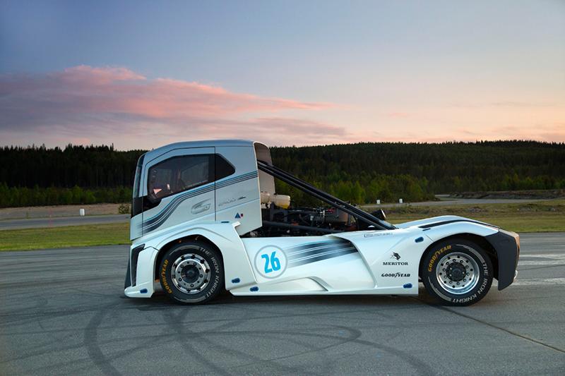 Volvo apresenta o caminhão mais rápido do mundo