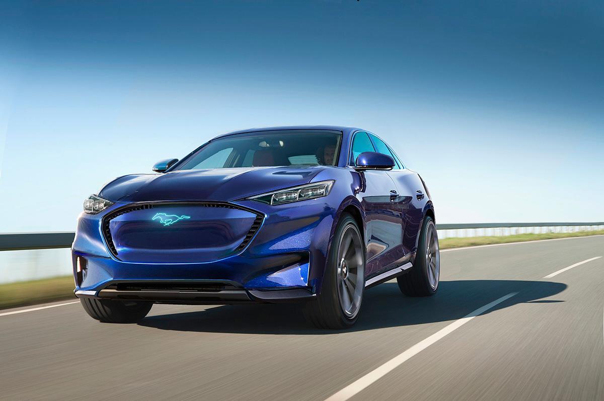 Ford apresenta Mustang elétrico Mach-E nos EUA
