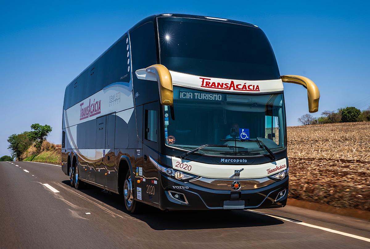Volvo torna seus ônibus ainda mais seguros com tecnologia de ponta