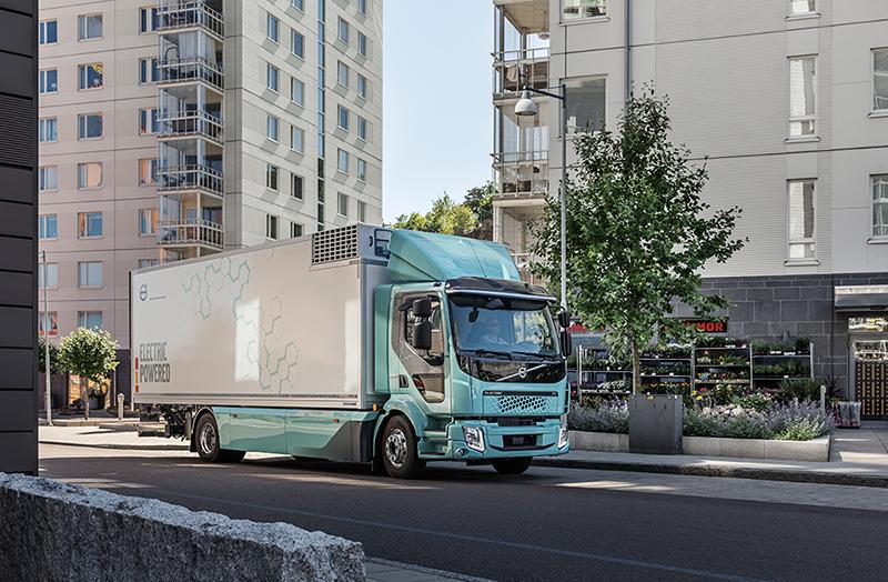Volvo inicia vendas de caminhões elétricos urbanos na Europa