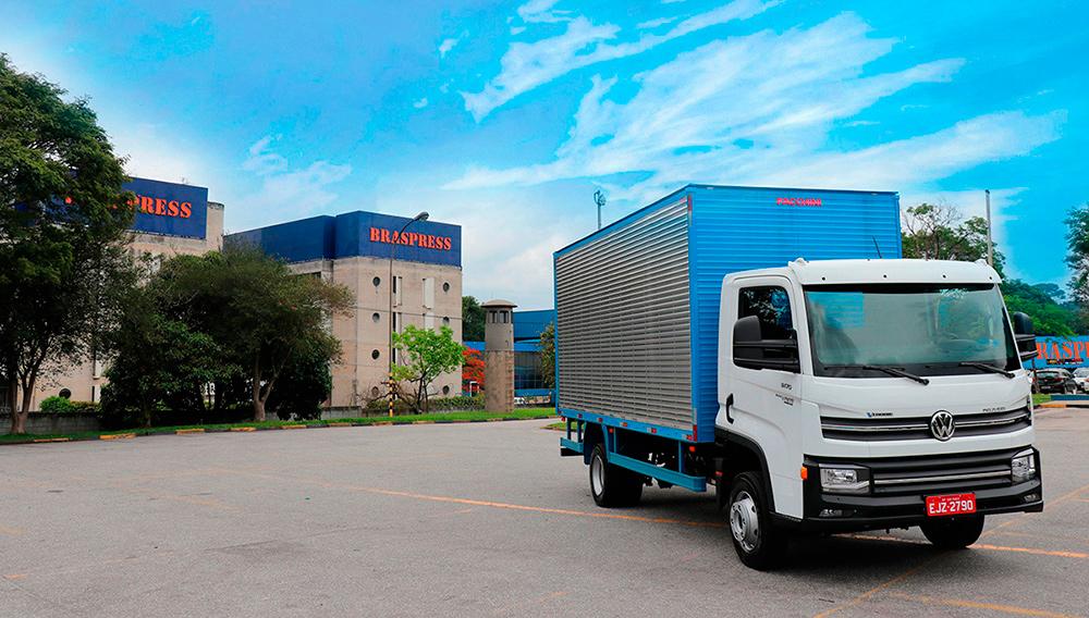Braspress testa VW Delivery automatizado