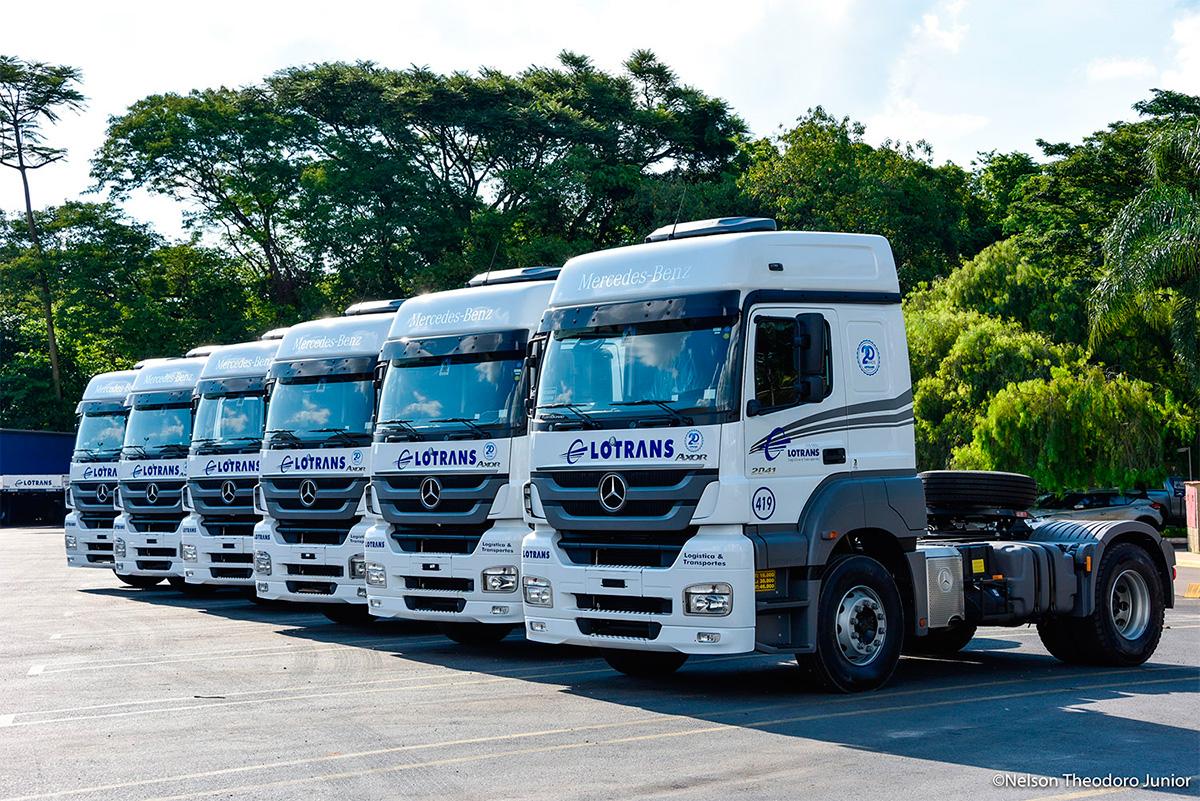 Motores Mercedes ultrapassam a barreira de um milhão de km rodados