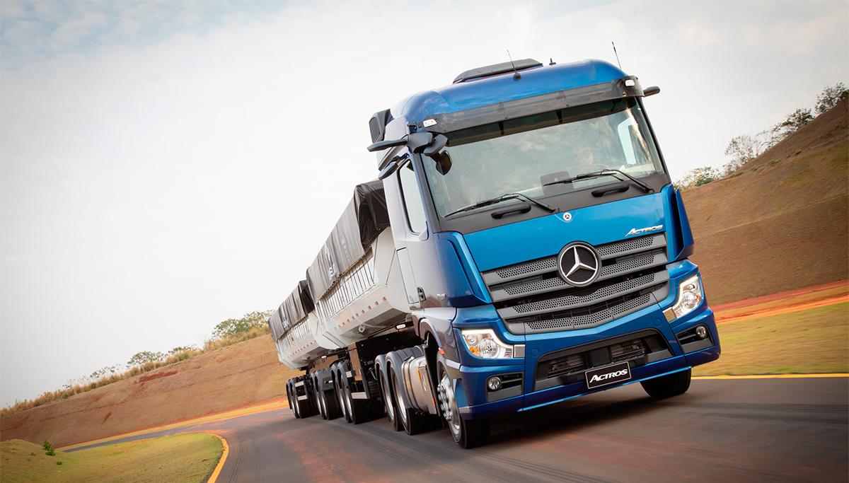 Vendas do Novo Actros da Mercedes-Benz começam quentes