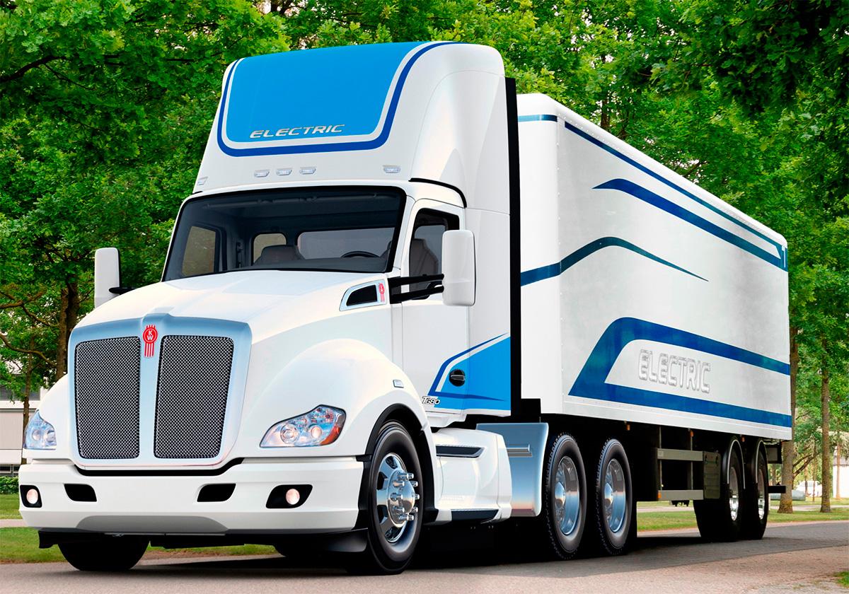 Kenworth e Meritor se unem para criar caminhão elétrico pesado nos EUA