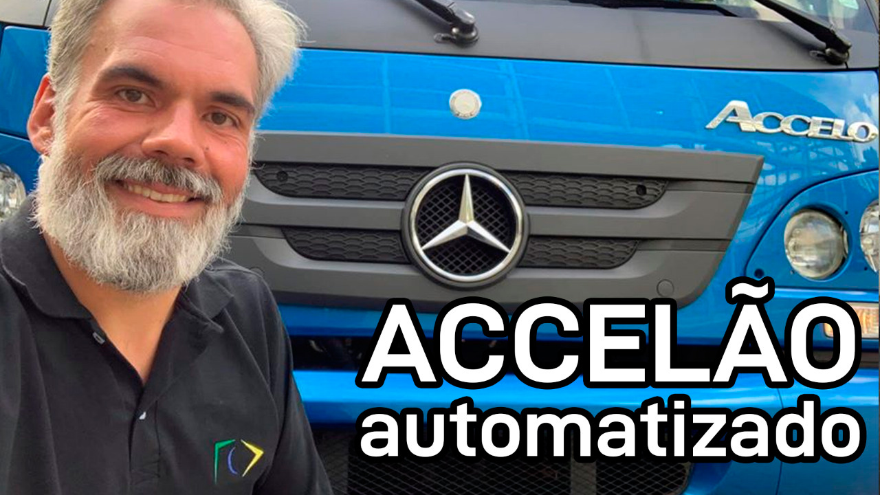 Andamos no novo Accelo automatizado da Mercedes-Benz