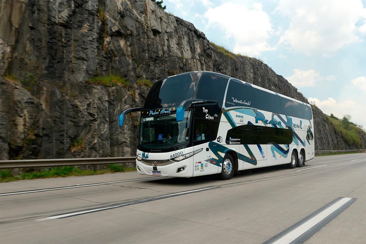 Transportadora capixaba compra ônibus supermodernos da Volvo