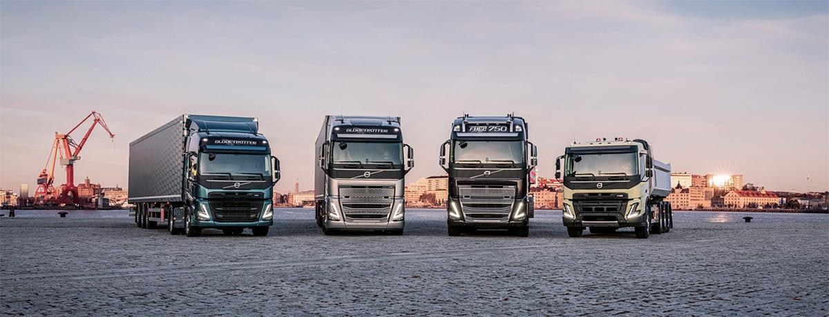 Volvo faz seu maior lançamento de caminhões da história