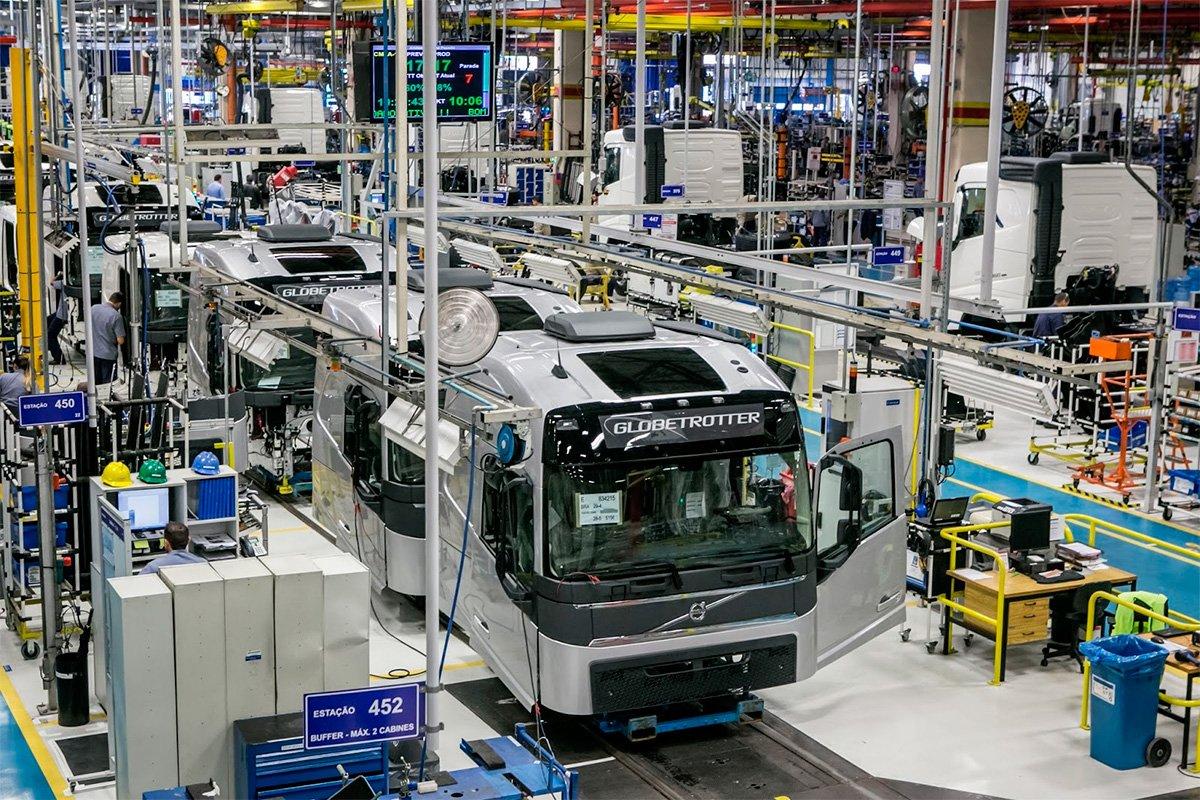 Volvo anuncia retorno à produção na próxima segunda-feira
