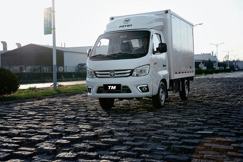 Foton inicia testes de novo caminhão no Brasil