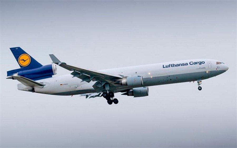 Lufthansa Cargo reforça voos para o Brasil para ajudar no combate à pandemia