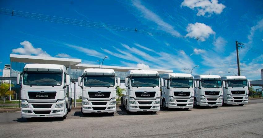 Transportadora paulista compra 25 caminhões extrapesados MAN TGX