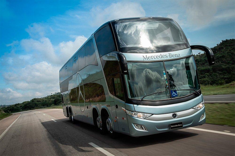 Mercedes-Benz apresenta novidades em ônibus