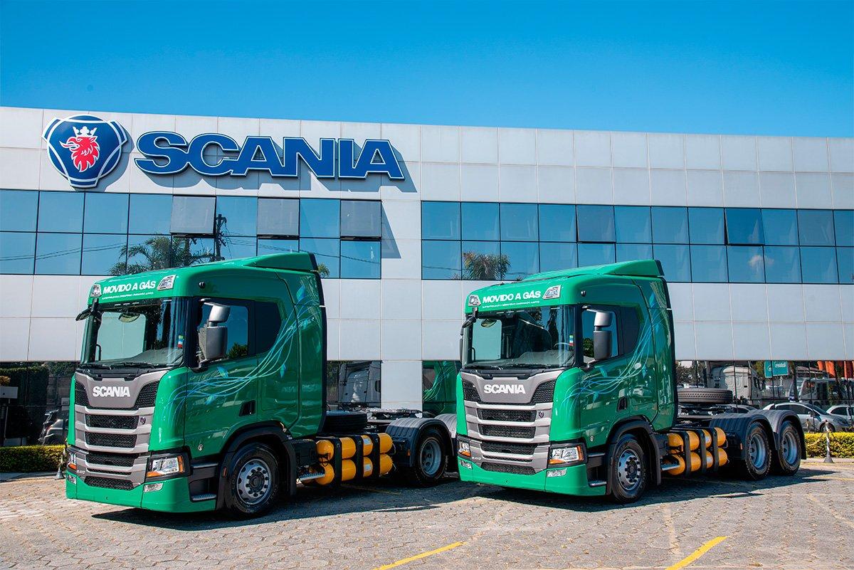 Empresas querem caminhões a gás em suas operações