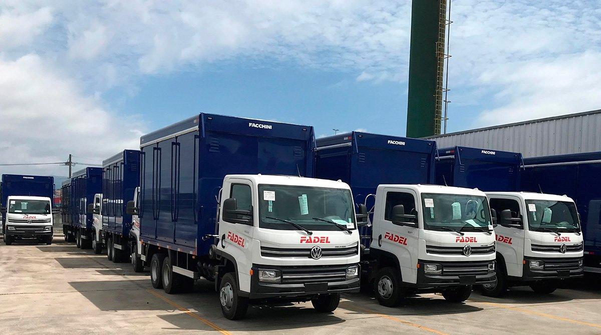 VW Deliverys brasileiros invadem o Paraguai