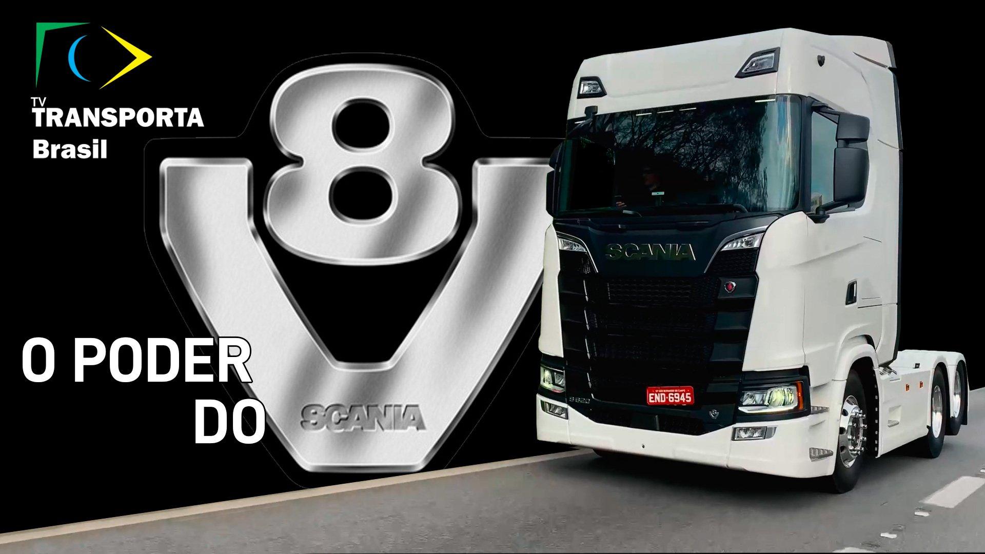 Oito fatos incríveis sobre o Scania R620 V8