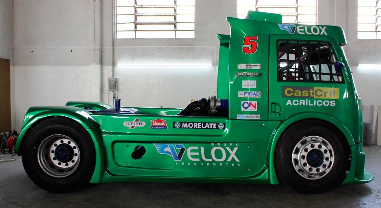 O caminhão mais ecológico que a Copa Truck já viu