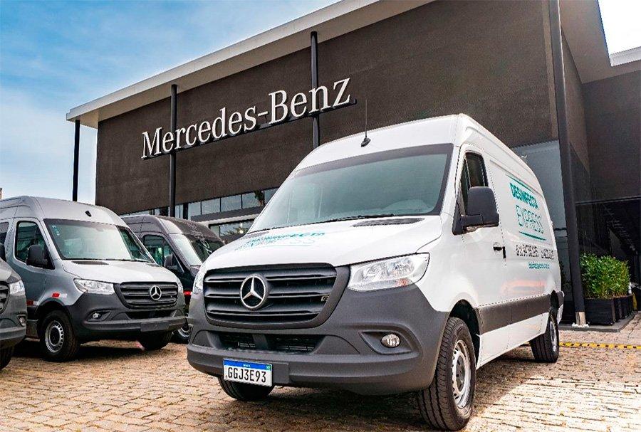 Concessionária Mercedes-Benz investe R$ 8 milhões em revenda de ônibus e comerciais leves