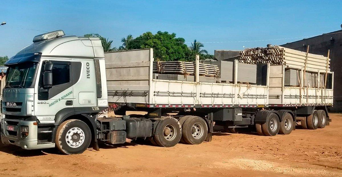 Mais um caminhão Iveco milionário em quilometragem
