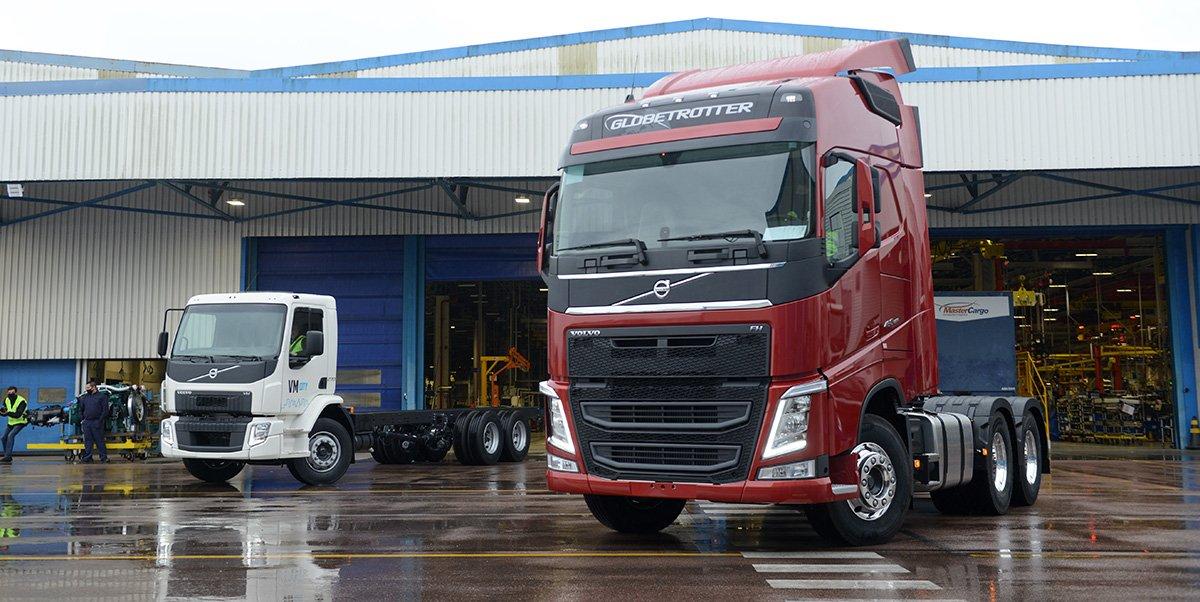 Volvo apresenta nova linha de caminhões 2021