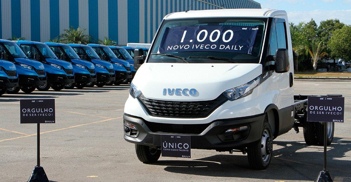 Iveco já fabricou mil novas Daily no Brasil