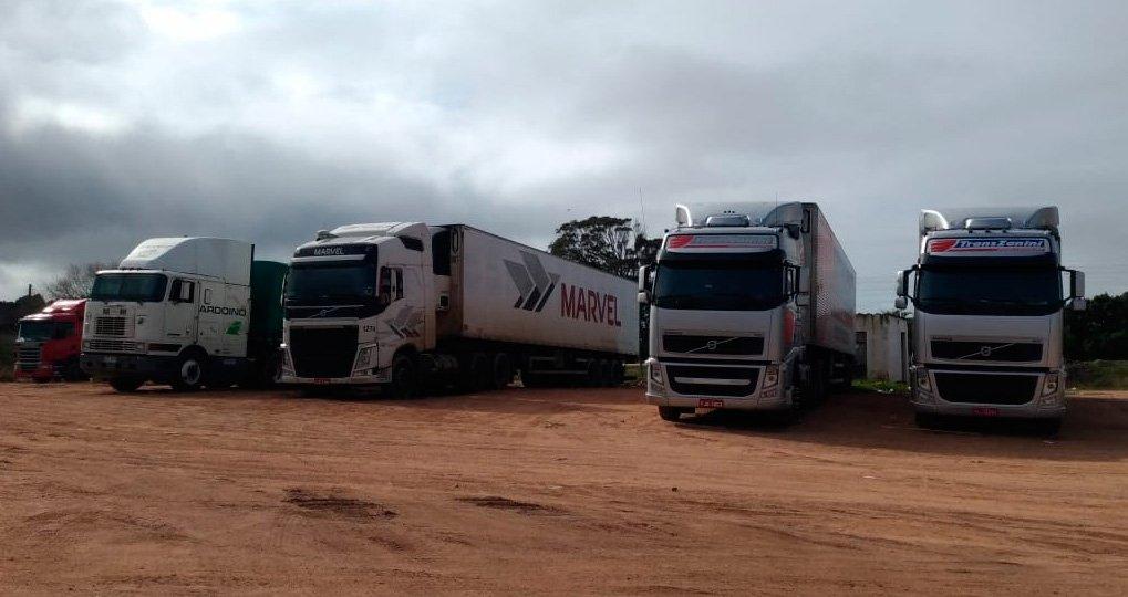 Uruguai exige teste de Covid dos caminhoneiros brasileiros na fronteira