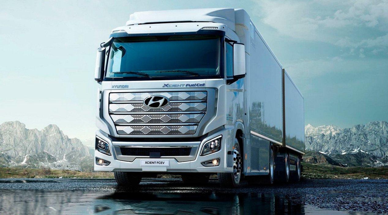 Hyundai entrega na Europa os primeiros caminhões movidos a hidrogênio produzidos em escala
