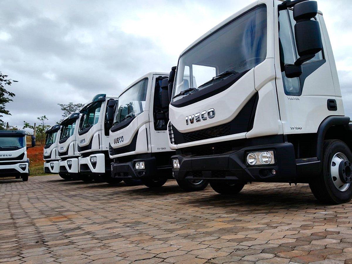 Iveco faz venda de 11 caminhões Tector para MG