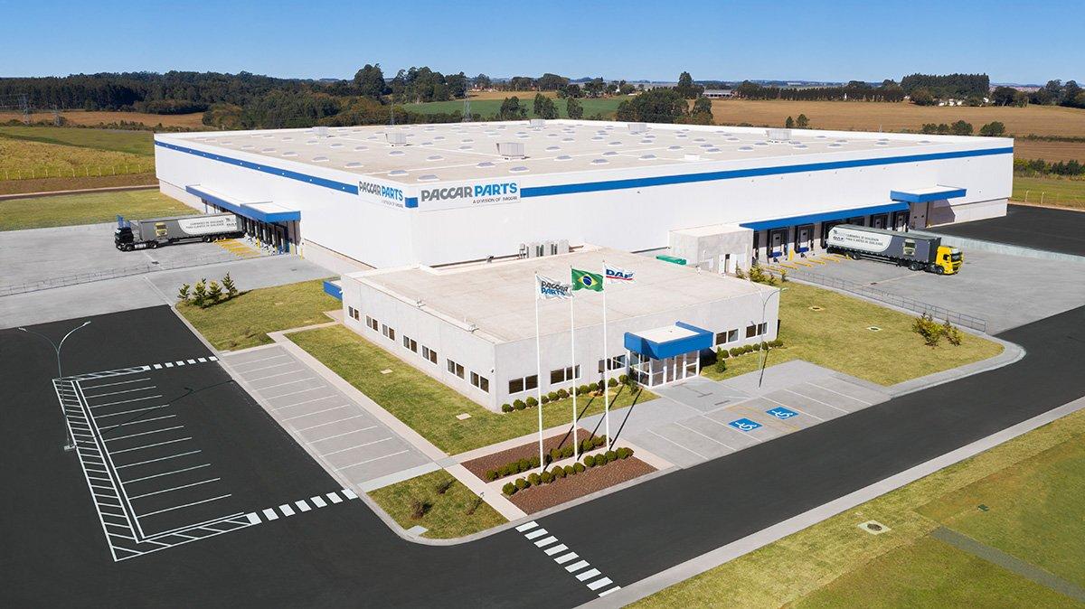 Paraná recebe novo Centro de Distribuição de Peças da Paccar