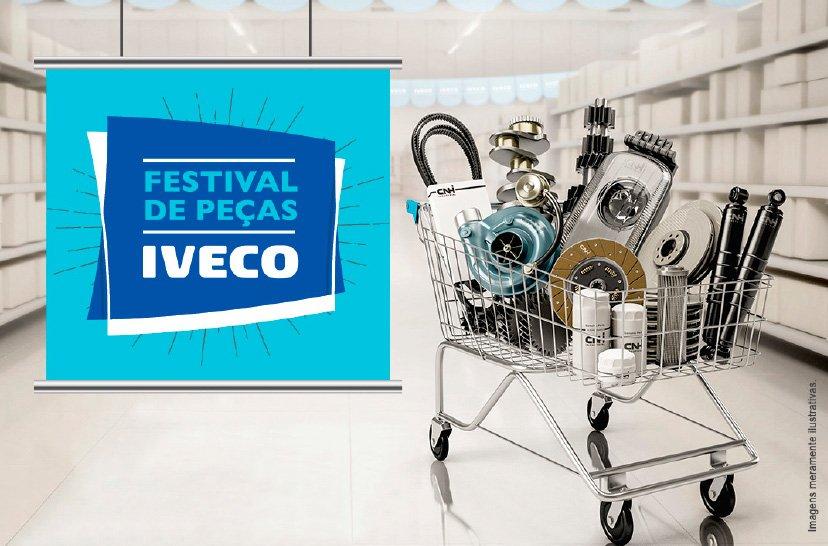 Iveco dá 40% de desconto em peças