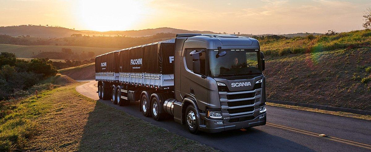 Scania tem condições especiais até dezembro em caminhões rodoviários