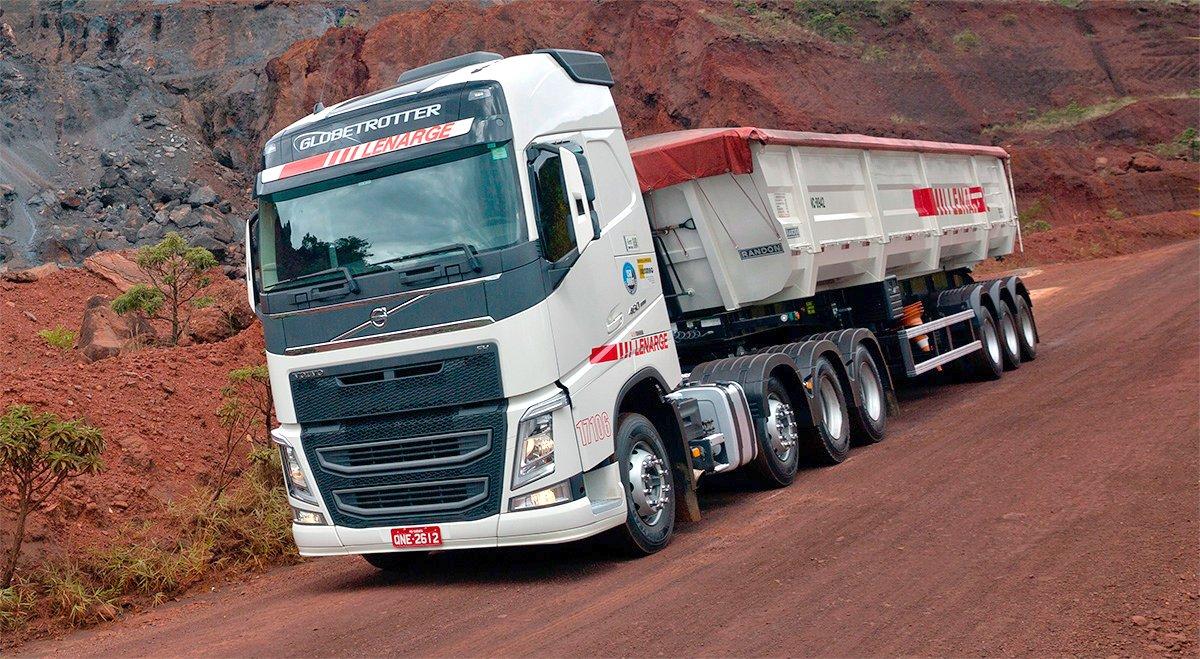 Transportadora mineira compra 200 Volvo FH 460 de uma só vez