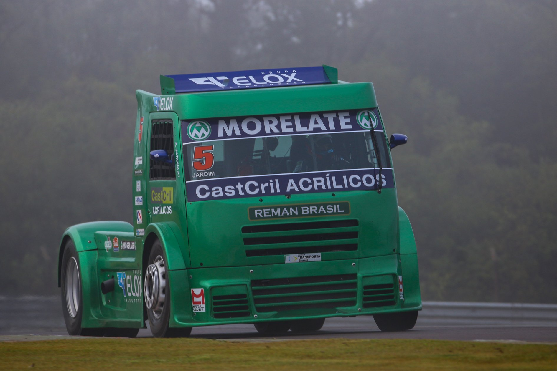 Adalberto Jardim chega com caminhão renovado e remanufaturado para etapa deste fim de semana em Cascavel (PR)