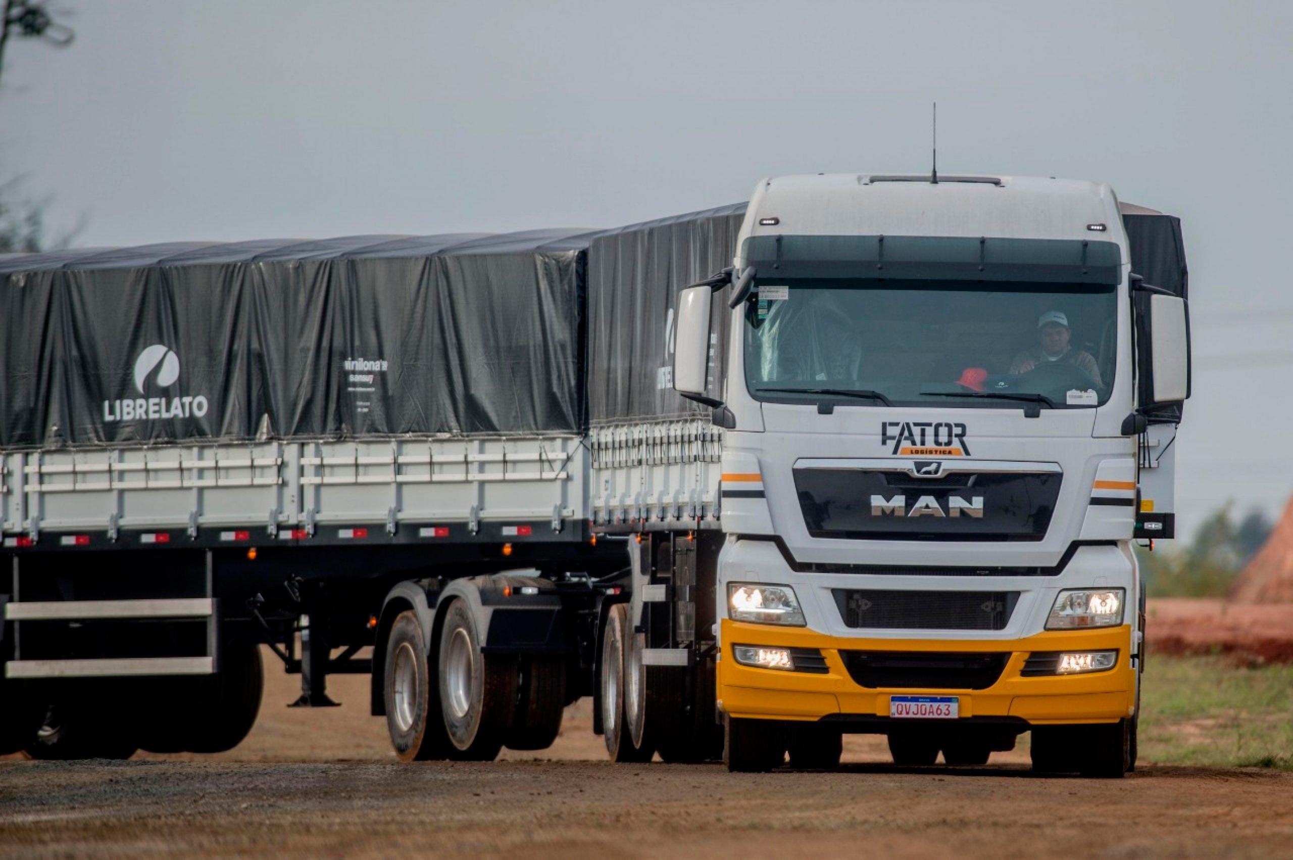 Empresa do Pará compra cinco caminhões extrapesados MAN TGX