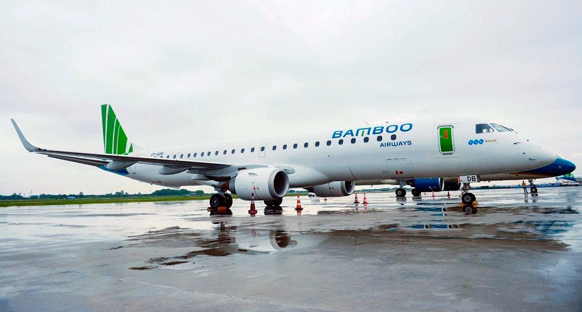 Jatos Embraer E195 estreiam nos céus do Vietnã