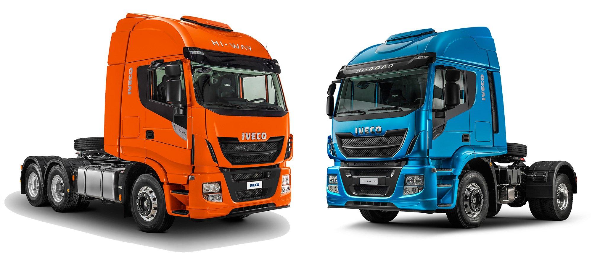 Iveco apresenta seus novos caminhões pesados conectados